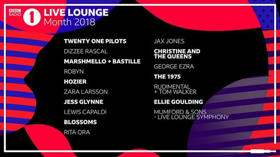 The 1975, Twenty One Pilots Among Lineup for BBC Radio 1's Live Lounge Month