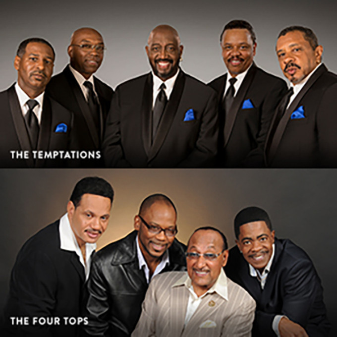 BWW Review: THE FOUR TOPS AND THE TEMPTATIONS at the San Diego Symphony's Bayside Summer Nights