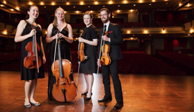 Fischoff Champions Callisto Quartet to Perform at Music Institute