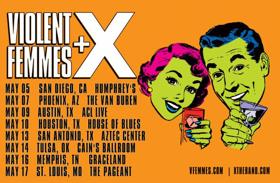 Violent Femmes Announce Co-Headline Tour with X