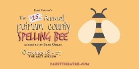 Faust Theatre Kicks Off Season with THE 25TH ANNUAL PUTNAM COUNTY SPELLING BEE
