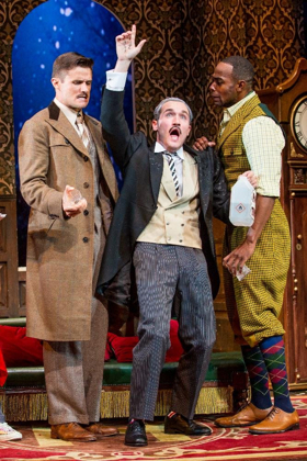 The Hijinks Are Over! THE PLAY THAT GOES WRONG to End Run on August 26