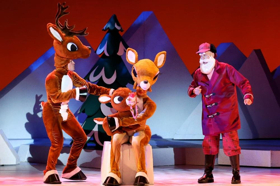 RUDOLPH THE RED NOSED REINDEER THE MUSICAL Rings in the Holidays at the Palace Theater