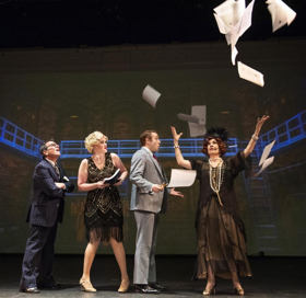 Jazz Age Comes Alive In BULLETS OVER BROADWAY At Foothill Music Theatre