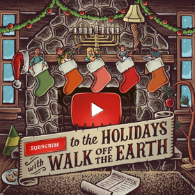 canadian band walk off the earth release have yourself a merry little christmas from upcoming ep