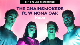 The Chainsmokers and Winona Oak Share Vevo Official Live Performance