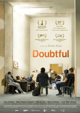 Ophir Award Nominee DOUBTFUL will Make U.S. Premiere at the Seattle International Film Festival this June