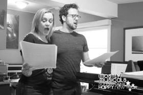 Photo Flash: In Rehearsal With (mostly)musicals: SongsforaHAPPYnewyear