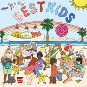 Best Coast Release Children's Record 'Best Kids' Vinyl