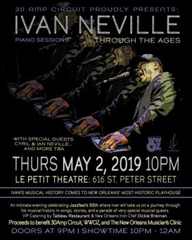 30AMP Circuit Presents 'Ivan Neville's Songbook Live' at Le Petit Theatre