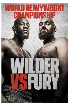 WBC Heavyweight World Championship 'Deontay Wilder vs Tyson Fury' Will Screen Live in U.S. Movie Theaters December 1