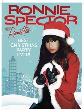 Ronettes Christmas.Ronnie Spector And The Ronettes Ring In The Holidays With
