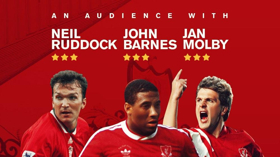 Parr Hall Presents Anfield Legends Barnes, Molby and Ruddock
