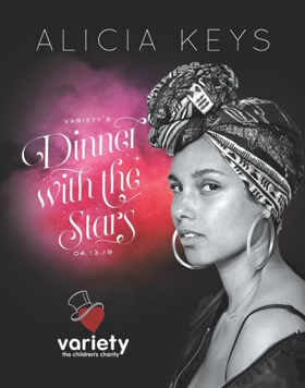 Alicia Keys To Headline Dinner With the Stars At Stifel Theatre