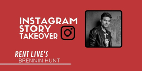 RENT LIVE's Brennin Hunt To Take Over Instagram Today!