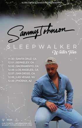 Sammy Johnson Announces Winter 2018 'Sleepwalker' Tour