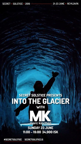 The World's Only Party Inside a Glacier with Martin Garrix & Marc Kinchen (MK) at Iceland's Secret Solstice 2019