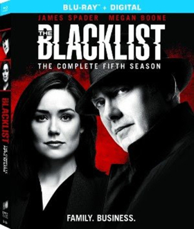 THE BLACKLIST Season Five Debuts on Blu-ray & DVD August 14