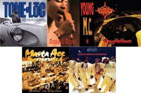 Craft Recordings to Reissue 5 Seminal Hip-Hop Titles from Delicious Vinyl