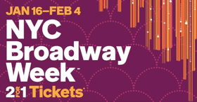 Get Tickets to 19 Broadway Shows at a 2-For-1 Rate During Broadway Week