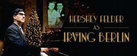 Tickets on Sale Tomorrow for HERSHEY FELDER AS IRVING BERLIN