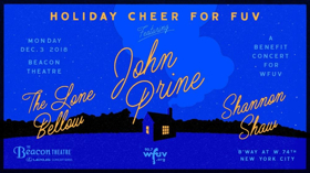 WFUV Announces Holiday Cheer for FUV Benefit Concert 2018
