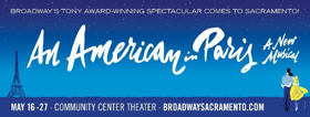 AN AMERICAN IN PARIS Comes to Community Center Theater