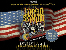 Lynyrd Skynyrd's Farewell Tour Comes to Bethel Woods