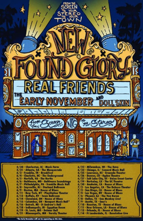 New Found Glory Announces 'From The Screen To Your Stereo To Your Town' Tour