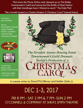 FARNDALE CHRISTMAS CAROL at She's Smith Opens 12/1