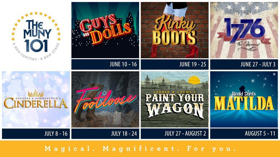 The Muny Announces Dates for Upcoming Season Shows