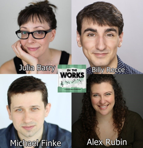 IN THE WORKS Returns to the Duplex Cabaret Theatre Sunday Nov 18th