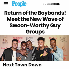 Next Town Down Joins People's List of Swoon-Worthy Guys Groups