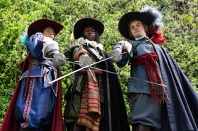 THE THREE MUSKETEERS Closes Out 2018-19 Alley Season