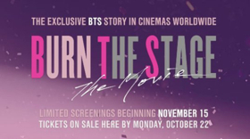 BTS Announce Premiere for BURN THE STAGE: THE MOVIE