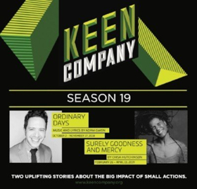 Keen Company Announces 19th Season Including ORDINARY DAYS and SURELY GOODNESS AND MERCY