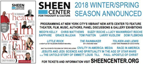 Sheen Center to Feature Grace McLean, Megyn Kelly, and More