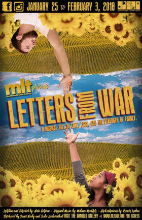 Marblehead Little Theatre to Present New Musical LETTERS FROM WAR