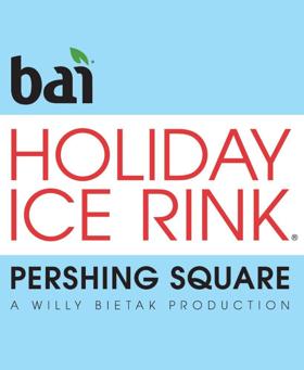 Bai Holiday Ice Rink Pershing Square Returns for 21st Anniversary Season