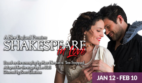 SpeakEasy Stage Presents SHAKESPEARE IN LOVE