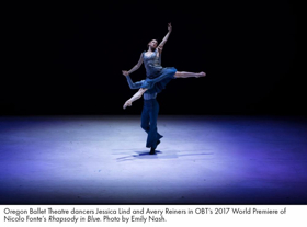 Pink Martini's Thomas H. Lauderdale Joins The Oregon Ballet Theatre In RHAPSODY IN BLUE At The McCallum