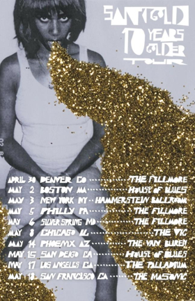 Santigold Announces '10 Years Golder Tour'