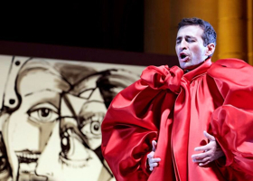 BWW Review: GLASS or HANDEL, Costanzo Can Handle Whatever's Thrown at Him