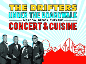 Tickets on Sale Now for The Drifters Live at Meadow Brook Theatre
