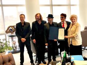 Mayor Goodman Proclaims 'The Australian Bee Gees Show Day'
