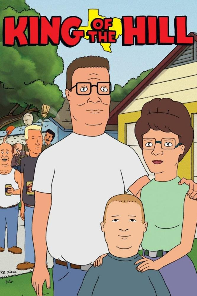 King of the hill anime style