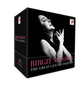 Sony Classical to Release BIRGIT NILSSON: THE GREAT LIVE RECORDINGS