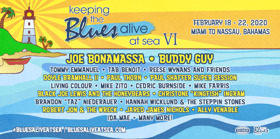 Joe Bonamassa Makes History Selling Out Two Music Festivals At Sea In One Year