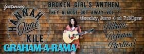 GRAHAM-A-RAMA Featuring Hannah Jane Kile Opens 6/4