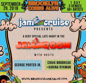 Brooklyn Comes Alive Releases Details For The Jam Room Presented By Jam Cruise